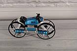 Квадрокоптер-трансформер дрон (квадрокоптер + мотоцикл 2 в 1 - QY Leap Speed PRO) на управлінні, фото 5