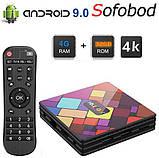 Новые 4K Android Smart TV, TV box, IPTV, TB/TV приставка 4/32 GB Android 9 12 ядер, НАСТРОЕНА, фото 2