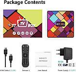 Нові 4K Android Smart TV, TV box, IPTV, TB/TV приставка 4/32 GB Android 9 12 ядер, НАЛАШТОВАНА, фото 6