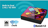 Новые 4K Android Smart TV, TV box, IPTV, TB/TV приставка 4/32 GB Android 9 12 ядер, НАСТРОЕНА, фото 3