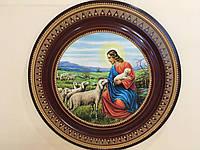 Ікона - тарілка різблена , ручна робота 49см