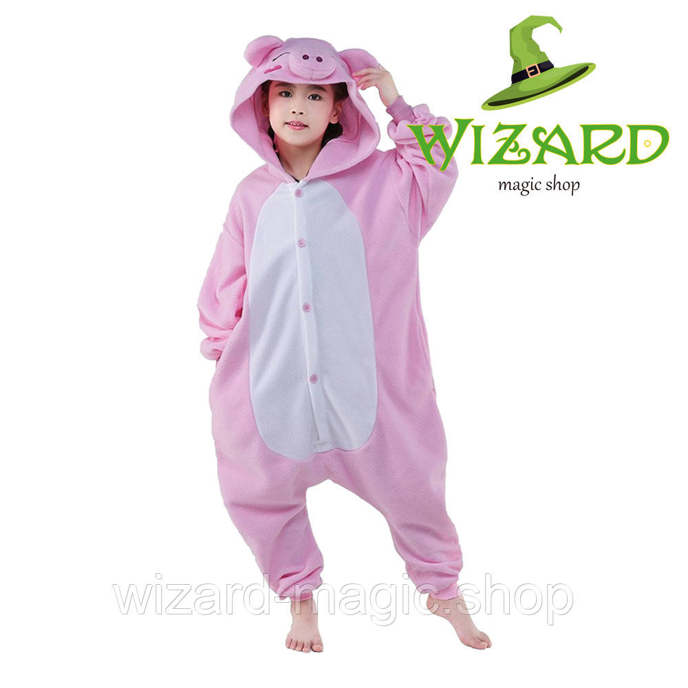 Кигуруми детский Свинка 120