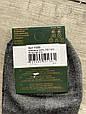 Шкарпетки котон чоловічі короткі Теркурій однотонні в сітку 25-26 27-28 29-30 12 шт в уп темно сірі, фото 2