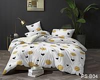 Комплекты постельного белья размера евро макси Сердечки   PS-B04