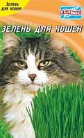 Семена зелени для кошек
