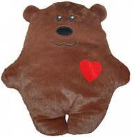 """Подушка """"Медвежонок с сердечком""""  scs"""