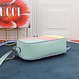 Сумка, клатч Гучи Marmont натуральная кожа, фото 4