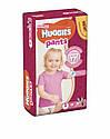 Подгузники-трусики Huggies Pants 5 для девочек (12-17 кг), 34 шт, фото 2