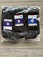 Чоловічі шкарпетки в сітку середні котон Правильний вибір однотонні 25-26 27-28 29-30 12 шт в уп чорні, фото 2