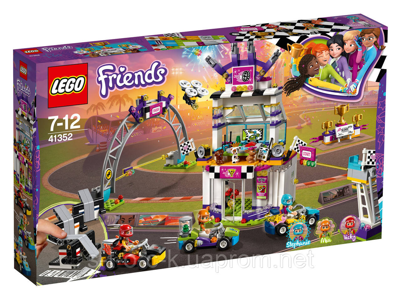 LEGO Friends 41352  Большая гонка