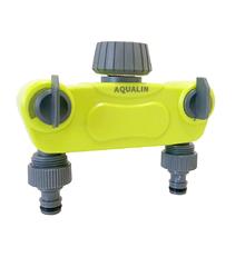 Пластиковый сплиттер на 2 выхода Aqualin 27223