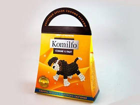"Набор для творчества ""Komilfo: Бисерный брелок Собачка""  sco"