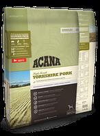 Сухой корм Acana (Акана) YORKSHIRE PORK для собак всех пород (свинина) 11,4 кг