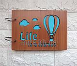 Фотоальбом своими руками Жизнь-это путишествие (Воздушный шар), фото 2