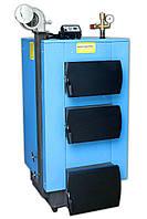 Твердотопливный котел Укртермо серия 100 24кВт автоматика вентилятор в комплекте