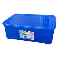 Контейнер пласт.синий 31,5л (12шт/уп) Easy Box Ал-Пластик