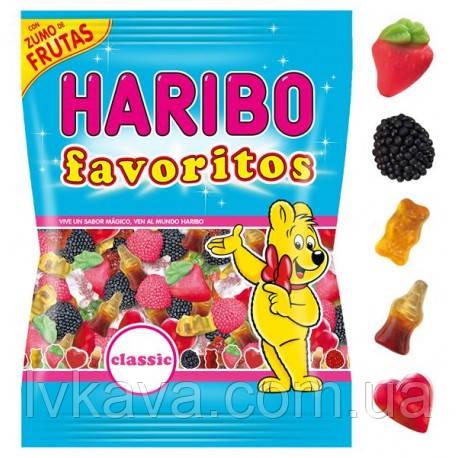Желейные конфеты Haribo favoritos , 150 гр