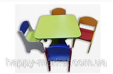 Дитячий стіл зі стільцями ДСС 0520