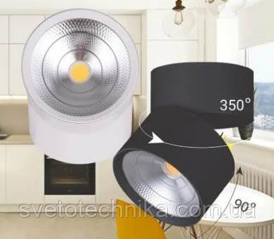 Накладной потолочный светильник Feron AL541 20W белый 4000К