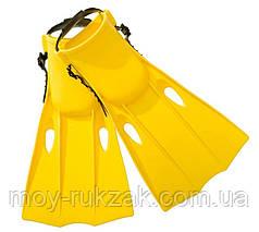 Ласты для плавания Intex 55936, размер 35-37, желтые