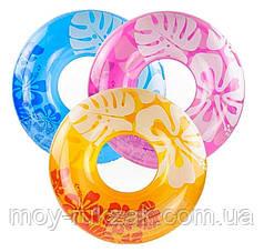 """Надувной круг Intex """"Перламутр"""", 59251, диаметр 91см"""