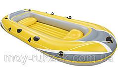"Надувная туристическая лодка ""Hydro - Force Raft"", Bestway 61066, 307х126х43см, до 270кг"