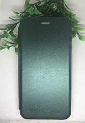 Чехол-книжка для Samsung A50 2019 (A505F) на магните зеленый перламутр