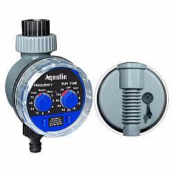 Автоматический таймер полива, подачи воды с шаровым клапаном Aqualin YL21025А под датчик дождя
