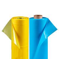 Пленка п/э рукав 0,100мк, 100м*1,5м (300кв.м) светостаб., желтая