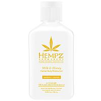 Увлажняющий лосьон для тела Молоко и Мёд Hempz Milk & Honey Herbal Body Moisturizer 66 мл