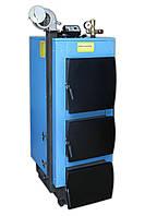 Твердотопливный котел Укртермо серия 200 17кВт автоматика вентилятор в комплекте, фото 1