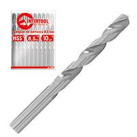 Сверло по метал.13,0мм HSS,Intertool (5шт)