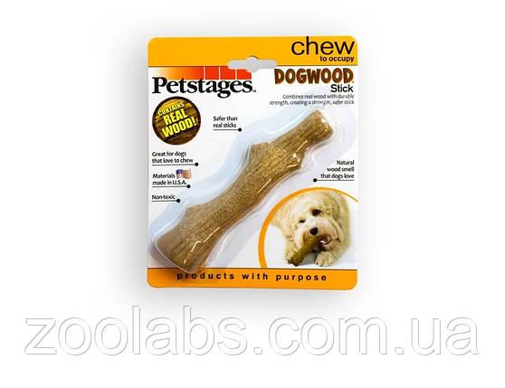 Игрушка для собак Petstages Dogwood Stick крепкая ветка средняя, фото 2