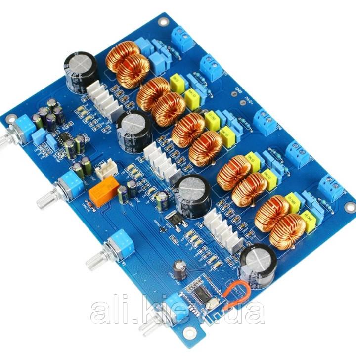 Усилитель звука 4.1 с Bluetooth 4*50Вт 1*100 Вт Сабвуфер  TPA3116D2 DC24V