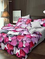 Постельное белье Комфорт текстиль Романтика из сатина евро
