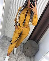 Женский стильный костюм в расцветках, фото 1