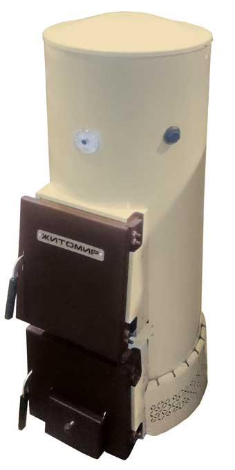 Двухконтурный твердотопливный котел Житомир-12ВМ
