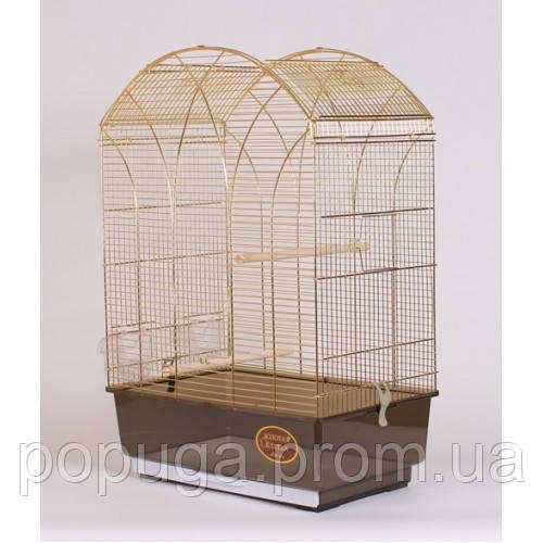 Клетка для птиц GEMMA Gold, 50*31*75 см