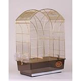 Клетка для птиц GEMMA Gold, 50*31*75 см, фото 2