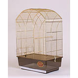 Клетка для птиц GEMMA Gold, 50*31*75 см, фото 3