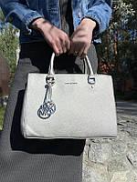 Сумка Майкл Корс цвет серебро, фото 1