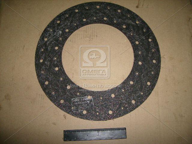 Накладка диска сцепления 14 без асбестовая сверленая (производство Фритекс) 14-1601138-31