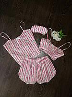 Пижама детская 4 в 1,  рр. 3-12 лет