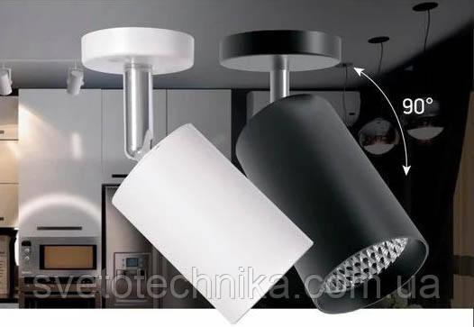 Трековый потолочный светильник Feron AL530 18W белый 4000К