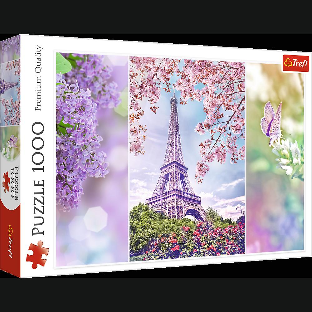 Пазл Trefl Весна в Париже 1000 элементов   10409