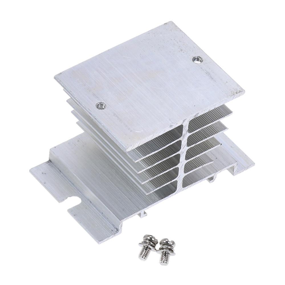 Радиатор для твердотельных реле SSR, алюминиевый 79*49*47мм