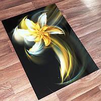 Картина из стекла - Огненный цветок