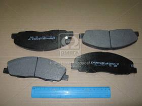 Колодки гальмівні ГАЗель NEXT передні (комплект-4шт.) (виробництво Dafmi) D517SM
