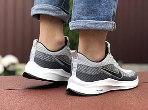 Кроссовки Nike Flyknit Lunar 3,светло серые, фото 3