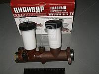 Цилиндр тормозной главный УАЗ 452,469 старого образца - 2 бачка, без сигнального устройства (производство  г.Ульяновск)  3151-3505010